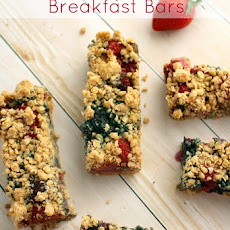 Triple Berry Oatmeal Breakfast Bars - one of my best Oatmeal Recipes!
