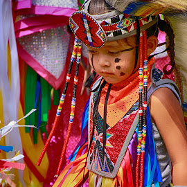 Tiny Native by Larrisa Fuester - Babies & Children Toddlers ( native baby, native child, hdr, color, children, summer, native son, KidsOfSummer )