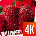 Love wallpapers 4k APK for Bluestacks
