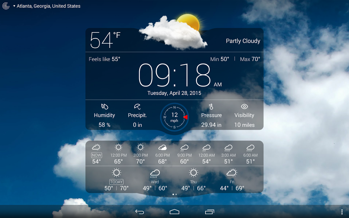 Weather Live Screenshot 8