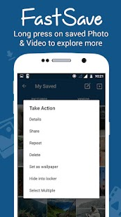 App FastSave for Instagram APK for Kindle