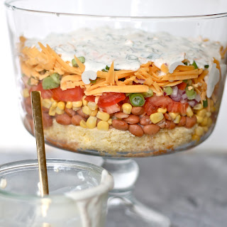Cornbread Salad with Ranch Dressing