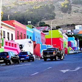 WALE STREET IN CAPE TOWN by Byron Beedle - City,  Street & Park  Historic Districts