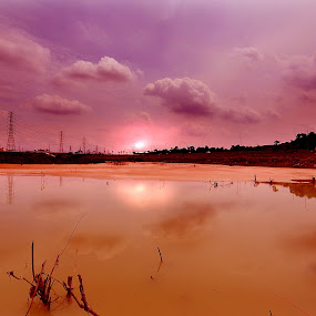 by Asep Sugema - Landscapes Sunsets & Sunrises