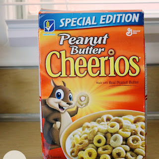 White Chocolate Peanut Butter Cheerios Treats