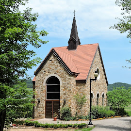 Shrine of our Lady of Guadalupe, LaCrosse, Wisconsin  by Mary Gallo - Buildings & Architecture Places of Worship ( worship, building, shrine,  )