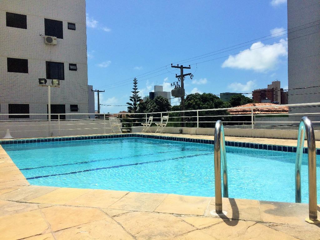 Apartamento residencial à venda, Bessa, João Pessoa - AP4966.
