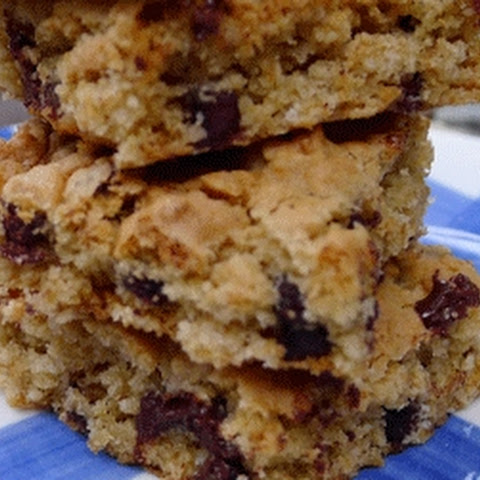 Chocolate Chip Cookie Bars for Diabetics by America's Best Cookbook for Kids with Diabetes