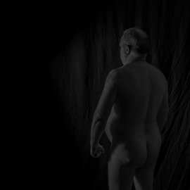 self nude of a fat man by Tim Hauser - Nudes & Boudoir Artistic Nude ( artisic nudes, artisic nude photography, fine art photography, tim hauser photography, nudes )