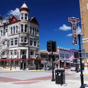 Sedalia, Missouri by M.H. O'Dell - Buildings & Architecture Public & Historical