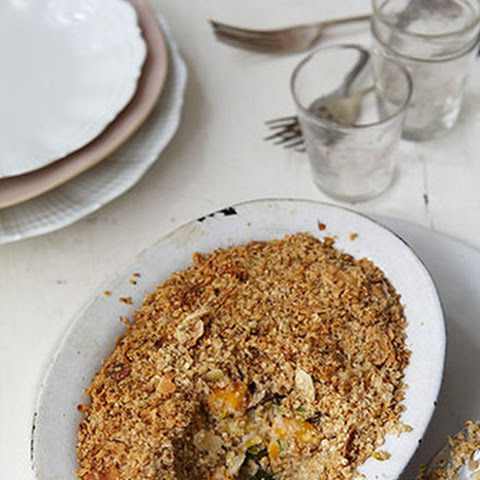 English Vegetable Crumble