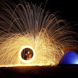 by Nandes Sicknoise - Abstract Fire & Fireworks