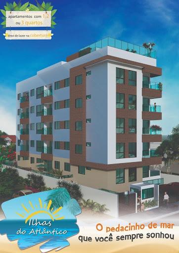 Apartamento com 2 dormitórios à venda, 60 m² + Área Externa de 19,42 m² por R$ 413.036 - Intermares - Cabedelo/PB