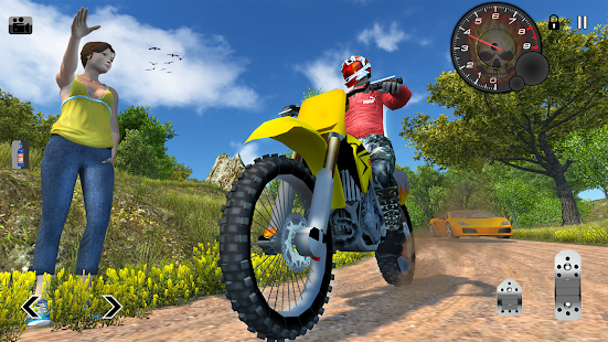 Game Off Road Moto Hill Bike Rush APK for Kindle