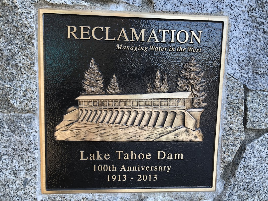 Reclamation Managing Water in the West Lake Tahoe Dam 100th Anniversary 1913-2013