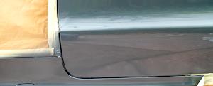 Mercedes SLK - Parking scrape