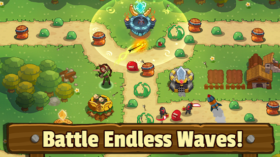 Realm Defense: Hero Legends TD Epic Strategy Game Screenshot