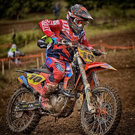 Top Ten ! by Marco Bertamé - Sports & Fitness Motorsports ( 10, red, motocross, speed, number, yellow, race, accelerating, noise )