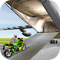 Airplane Bike Transporter Plan APK for Bluestacks