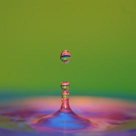 ... by Hale Yeşiloğlu - Abstract Water Drops & Splashes ( water, liquid, splash, drop, drops )
