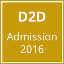 D2D Admission (Diploma2Degree)