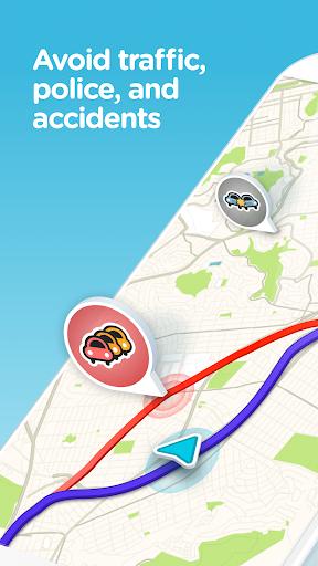 Waze - GPS, Maps, Traffic Alerts & Live Navigation screenshot 1