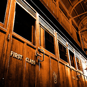 First Class by Tiahn Anneliese - Transportation Trains