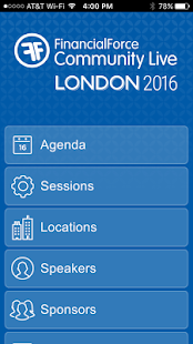 FinancialForce UK CommLive - screenshot