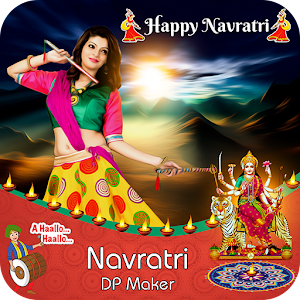 Navratri DP Maker / Navratri Profile Picture Maker