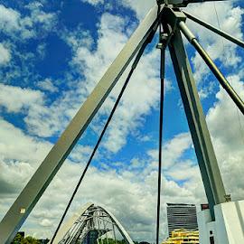 Brisbane  - Bridge by Zdenka Rosecka - Buildings & Architecture Bridges & Suspended Structures