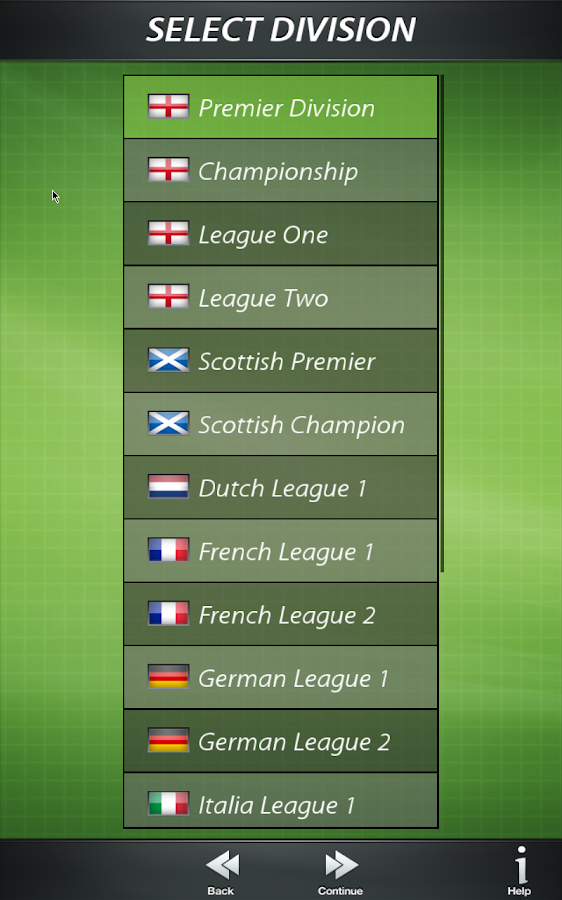 Football Director 17 - Soccer Screenshot 9