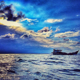 My Sea by Evan Septian - Public Holidays Thanksgiving ( #belawan #medan #indonesia )
