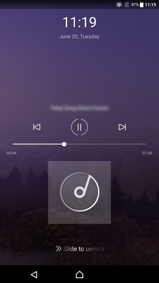 Free Music Player Screenshot