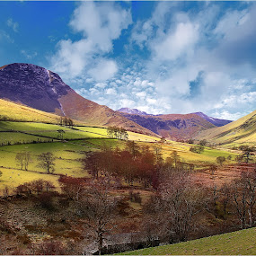 by Stephen Hooton - Landscapes Mountains & Hills ( lakes, places )