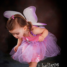 FAIRY STORY 1 by Wayne Brown - Typography Captioned Photos ( love, girl, pray, portraiture, child )