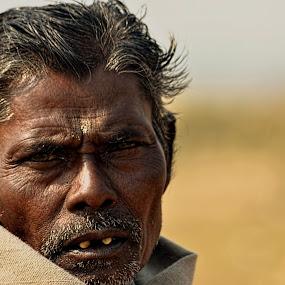 Village man by Sagar Lahiri - People Portraits of Men ( village man, west bengal, village, sagarlahiri_photo, india, nikond5100, people )