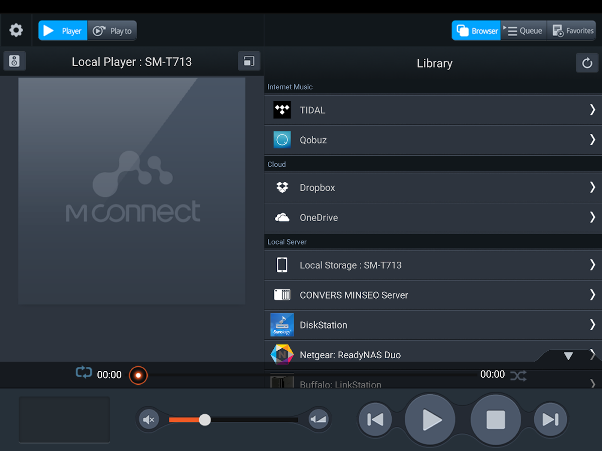 mconnect Player HD Screenshot