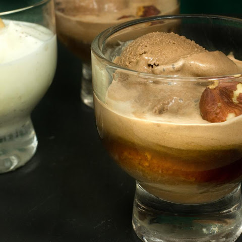 Drunken Affogato (Ice Cream Shots)