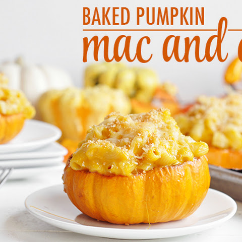 Baked Pumpkin Mac and Cheese