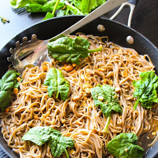 20-Minute Spicy Basil Thai Noodles.