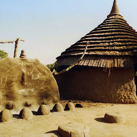 Sudanese House by Carlos Narciso - Buildings & Architecture Homes ( sudan, dinka tribe, kordofan, tradition, house )