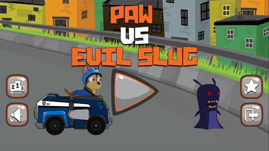 Paw VS Evil Slug Patrol- screenshot