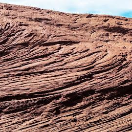 Red Rock, Blue Sky by Richard Michael Lingo - Nature Up Close Rock & Stone ( red, nature, blue, stone, rock, weathering )