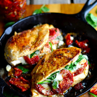 Baked Chicken Stuffed With Spinach And Cheese Recipes