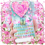 Orchid Petal Flower Keyboard Icon