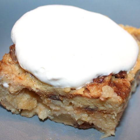 Apple Cinnamon Bread Pudding with Ginger Ale Sauce