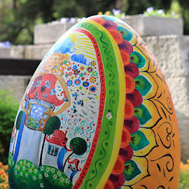 by Sergey Sokolov - Public Holidays Easter ( old, unique, arch, cultural, architecture, cityscape, house, egg, landscape, drawing, city, psd, stock, ancient, spiritual, village, fragment, plovdiv, building, national, white, museum, photo, rural, gate, amazing, holiday, fence, easter, pattern, magical, library, modernity, town, garden, culture )