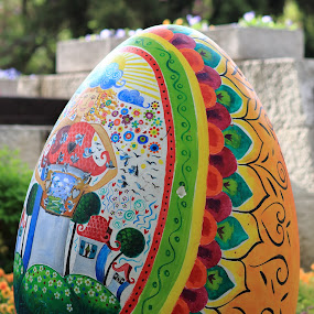 by Sergey Sokolov - Public Holidays Easter ( old, unique, arch, cultural, architecture, cityscape, house, egg, landscape, drawing, city, psd, stock, ancient, spiritual, village, fragment, plovdiv, building, national, white, museum, photo, rural, gate, amazing, holiday, fence, easter, pattern, magical, library, modernity, town, garden, culture,  )