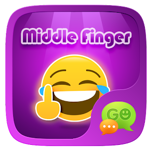 FREE - GO SMS FINGER STICKER For PC