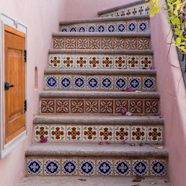 Tiled Stairs by Vonelle Swanson - Buildings & Architecture Homes